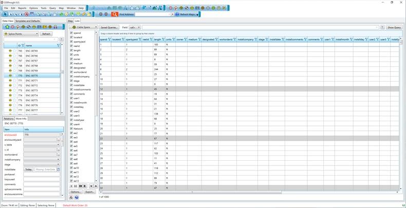OSPInsight Desktop Data