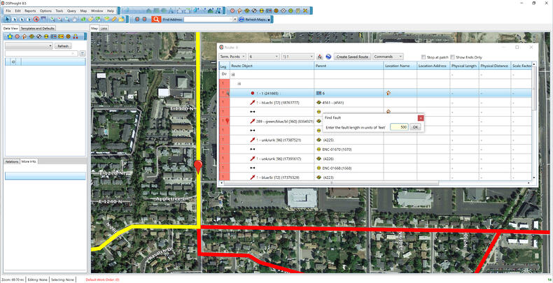 OSPInsight Find Fault Tool