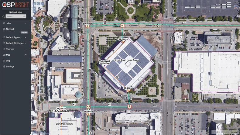 OSPInsight Web - Base Maps - Google Aerial